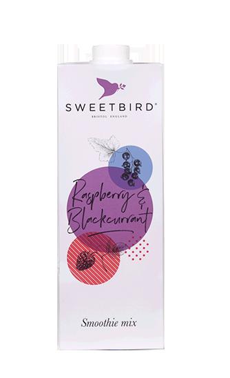 Raspberry & Blackcurrant smoothie
