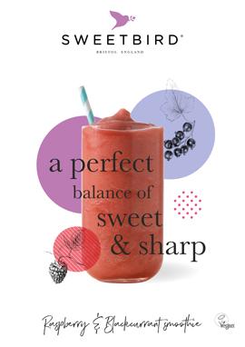 Raspberry & Blackcurrant Smoothie poster