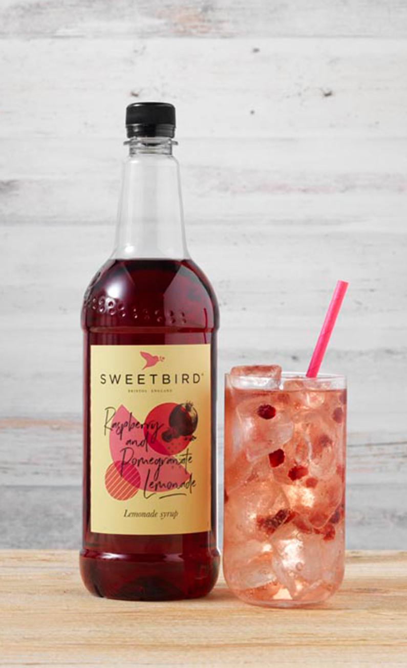 Raspberry & Pomegranate Lemonade syrup