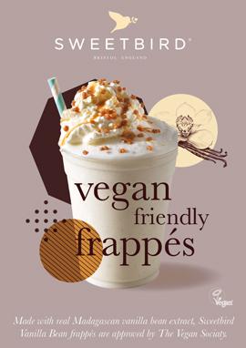 Vanilla Bean Frappé poster