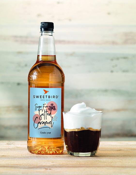 Sugar-free Salted Caramel syrup