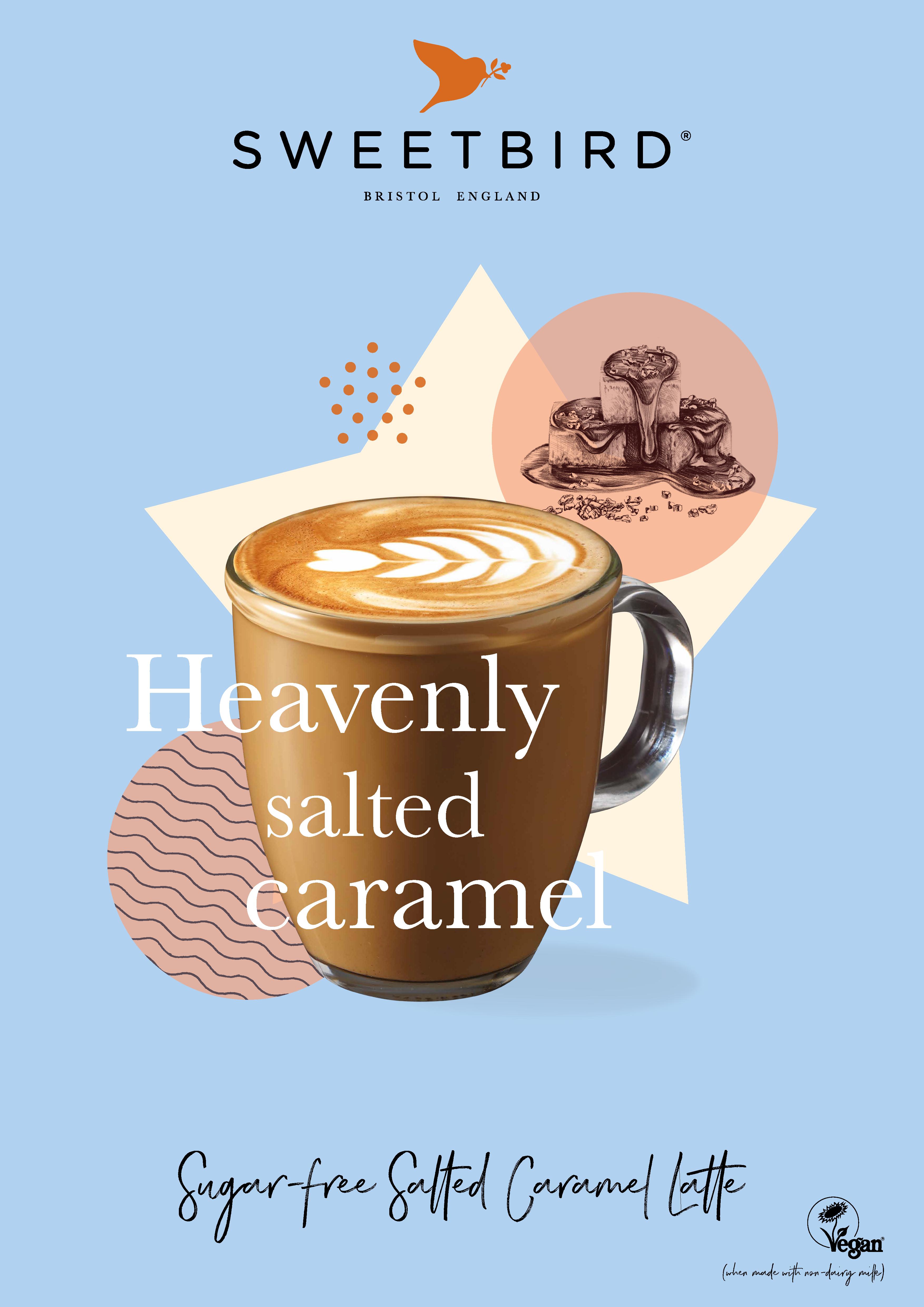 Sweetbird Sugar-free Salted Caramel Poster