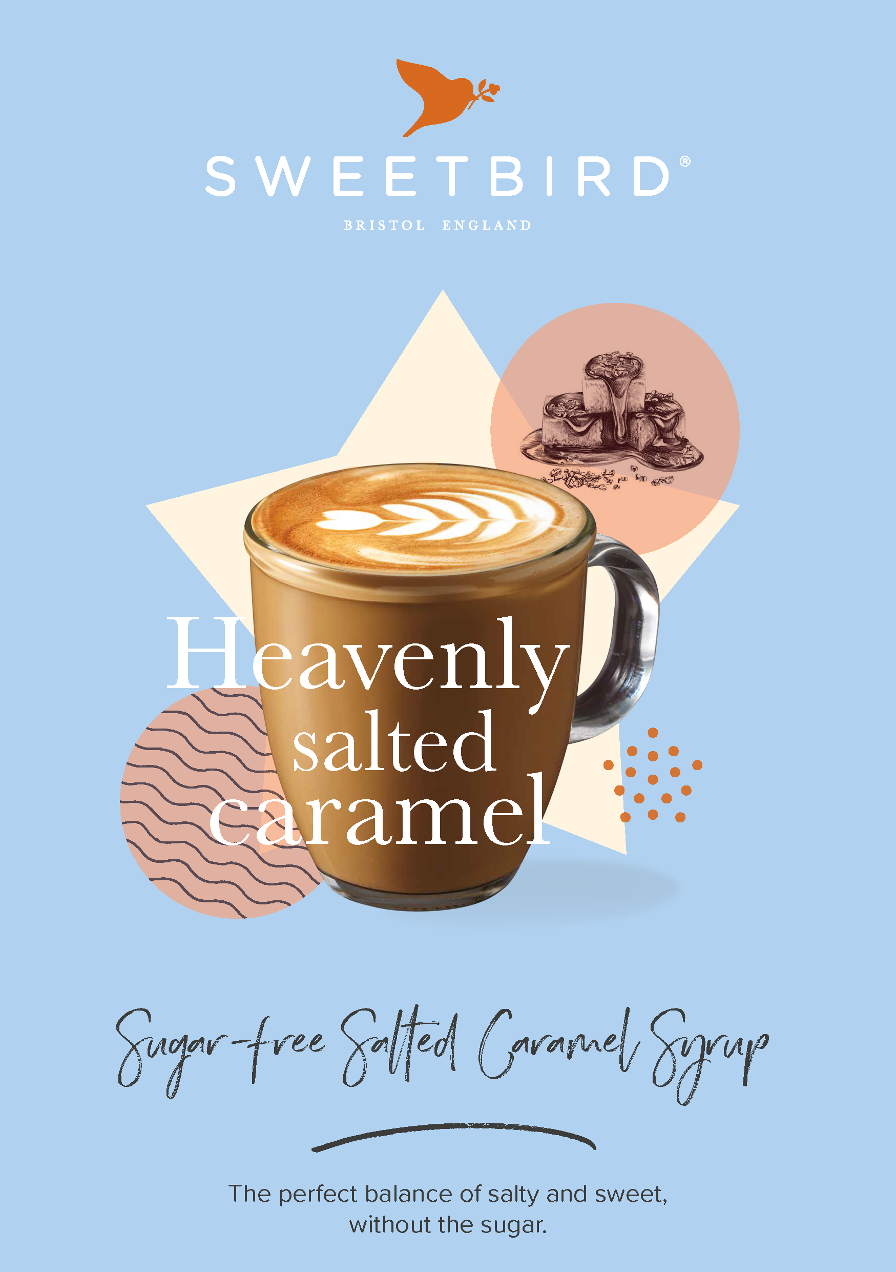 Sweetbird Sugar-free Salted Caramel Syrup Fact Sheet