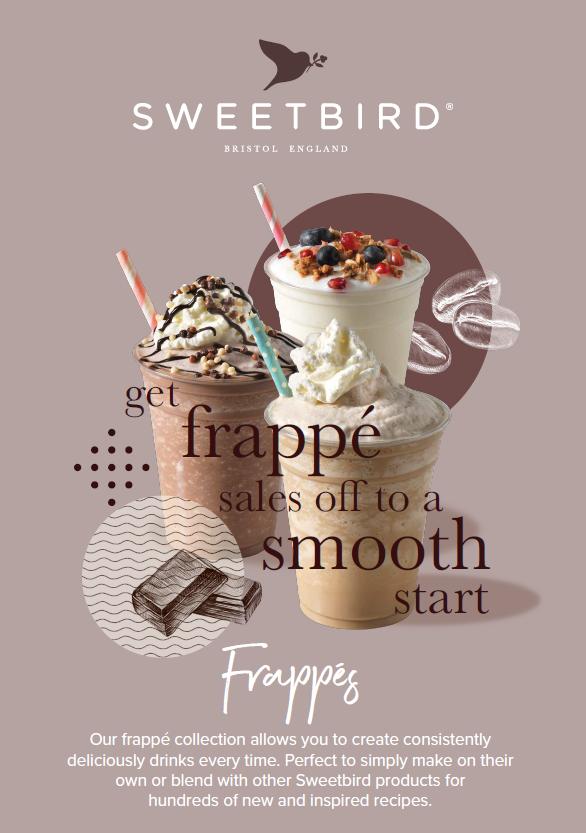 Sweetbird VEGAN Caffe Frappe Fact Sheet