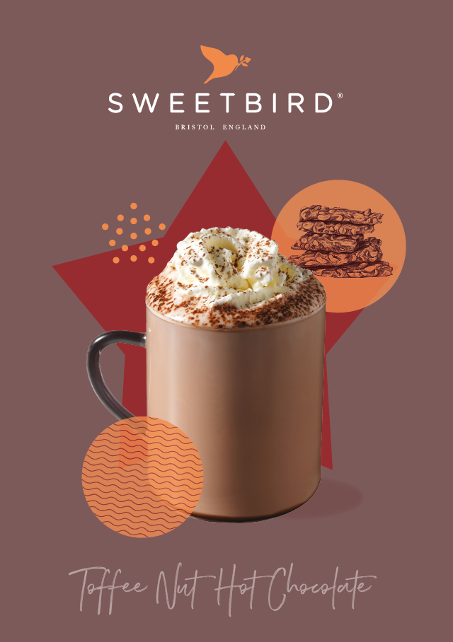 Toffee Nut Hot Chocolate poster