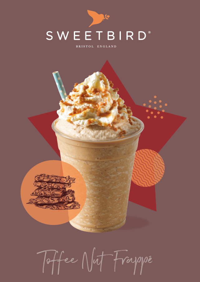 Toffee Nut Frappe poster